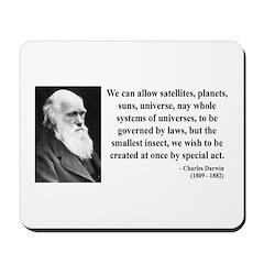 Charles Darwin 5 Mousepad