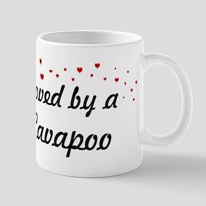 Loved By Cavapoo Mug