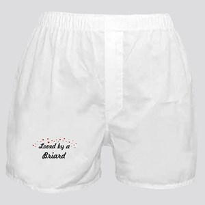 Loved By Briard Boxer Shorts
