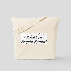 Loved By Boykin Spaniel Tote Bag
