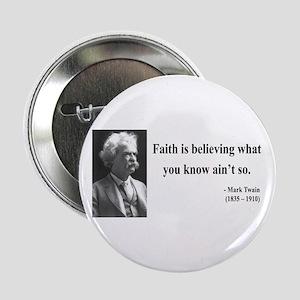"""Mark Twain 19 2.25"""" Button"""
