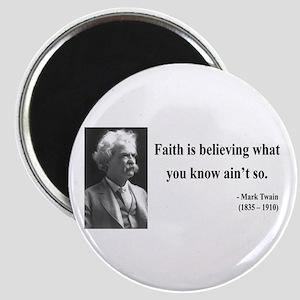 Mark Twain 19 Magnet