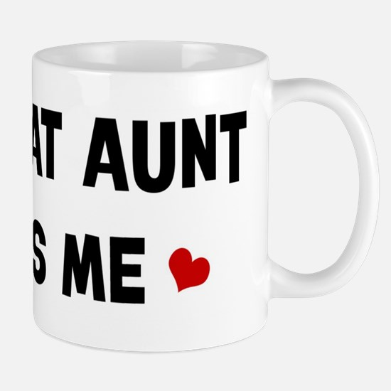 Great Aunt loves me Mug