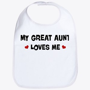 Great Aunt loves me Bib