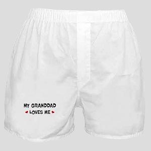 Granddad loves me Boxer Shorts