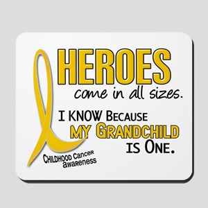 Heroes All Sizes 1 (Grandchild) Mousepad