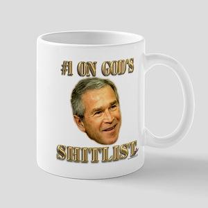 #1 on God's Shitlist Mug