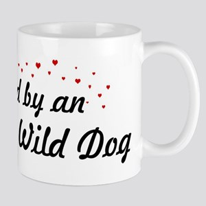 Loved By African Wild Dog Mug