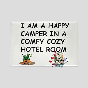 I AM A HAPPY CAMPER Rectangle Magnet