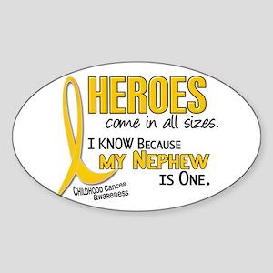Heroes All Sizes 1 (Nephew) Oval Sticker