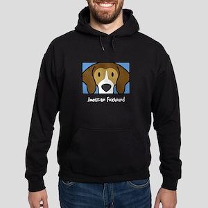 Anime American Foxhound Hoodie (dark)