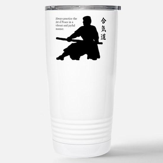 Aiki Jo Stainless Steel Travel Mug