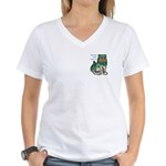 WOA Women's V-Neck T-Shirt