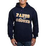 Pants on the ground Hoodie (dark)