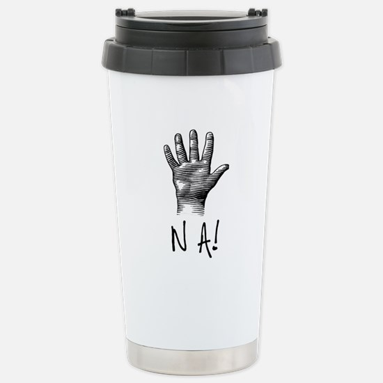 NA! Stainless Steel Travel Mug