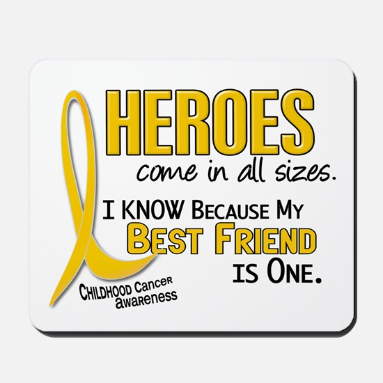 Heroes All Sizes 1 (Best Friend) Mousepad