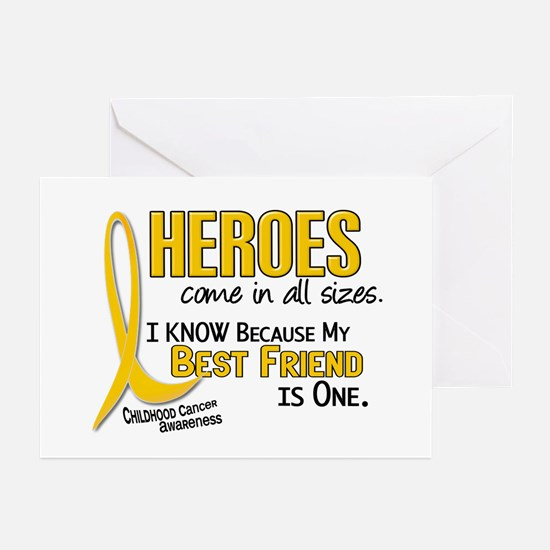 Heroes All Sizes 1 (Best Friend) Greeting Cards (P
