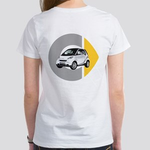 What's Your Color? White Women's Smart Car T-Shirt