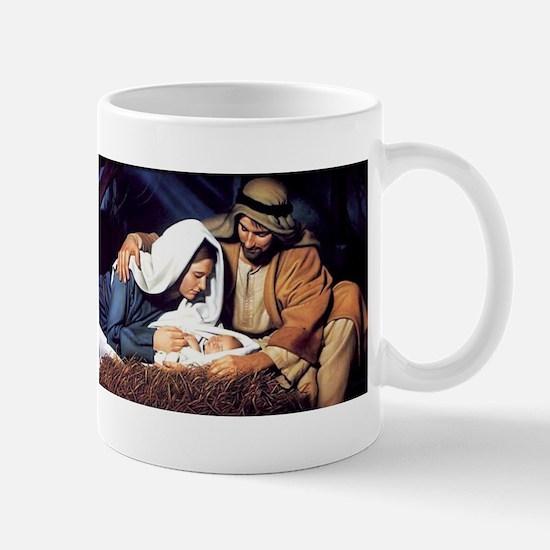 Christmas Jesus Birth Stable Mug