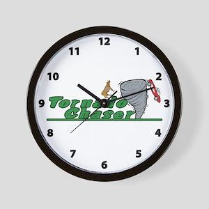 Tornado Chaser Wall Clock