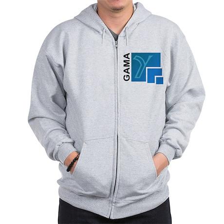 GAMA Logo Zip Hoodie
