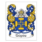 Teixeira Family Crest Small Poster