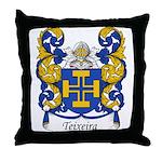 Teixeira Family Crest Throw Pillow
