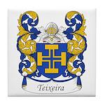 Teixeira Family Crest Tile Coaster