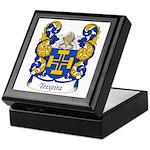 Teixeira Family Crest Keepsake Box