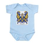 Teixeira Family Crest Infant Creeper
