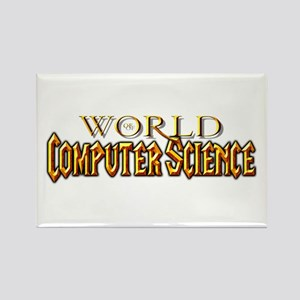 World of Computer Science Rectangle Magnet