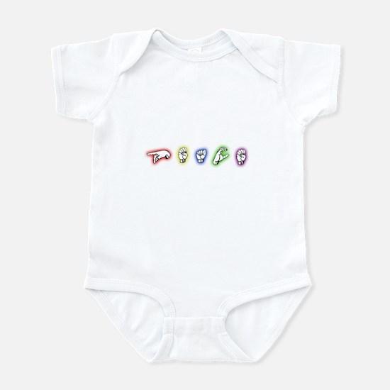 Signing Peace Infant Bodysuit