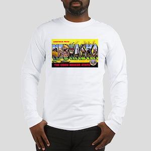 Nebraska Greetings Long Sleeve T-Shirt