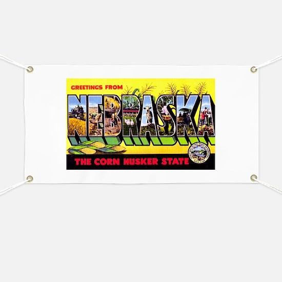 Nebraska Greetings Banner