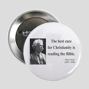 """Mark Twain 20 2.25"""" Button"""