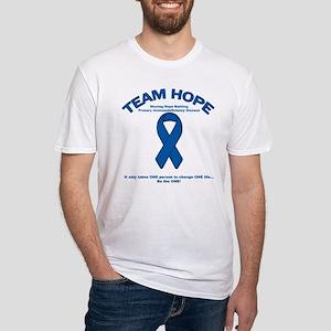 Team Hope PIDD Awareness 2 Fitted T-Shirt