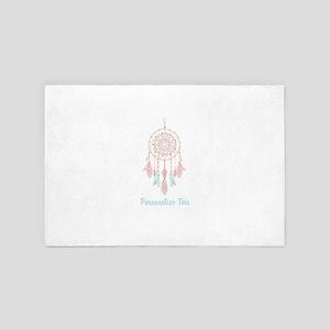 Bohemian Dreamcatcher Personalized 4' x 6' Rug