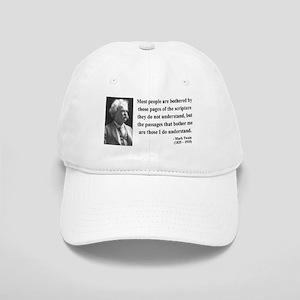 Mark Twain 21 Cap