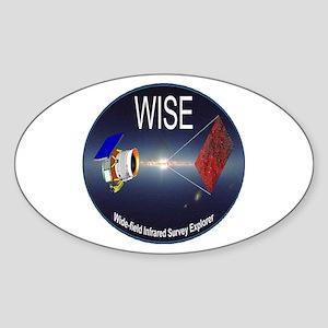 WISE Oval Sticker