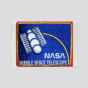 Hubble Space Telescope Rectangle Magnet
