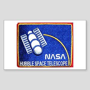 Hubble Space Telescope Rectangle Sticker