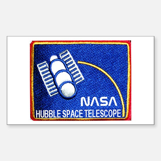 Hubble Space Telescope Rectangle Decal