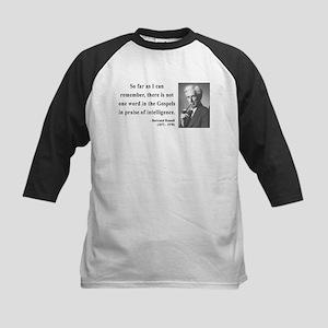 Bertrand Russell 8 Kids Baseball Jersey