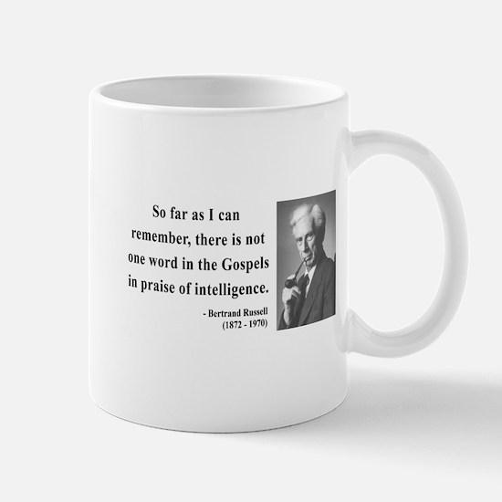 Bertrand Russell 8 Mug