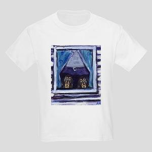 COONHOUND window Kids T-Shirt