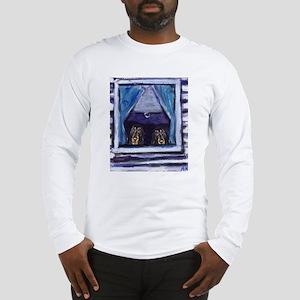 COONHOUND window Long Sleeve T-Shirt