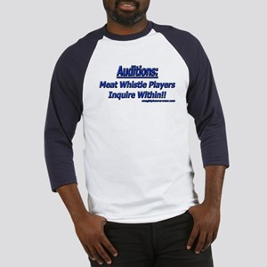 Auditions: Meat Whistle Playe Baseball Jersey