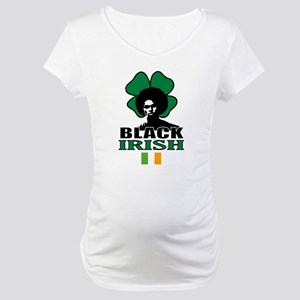 St. Patricks Day Maternity T-Shirt