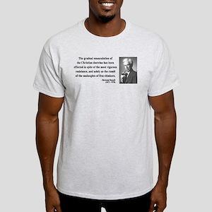 Bertrand Russell 17 Light T-Shirt