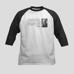 Bertrand Russell 17 Kids Baseball Jersey